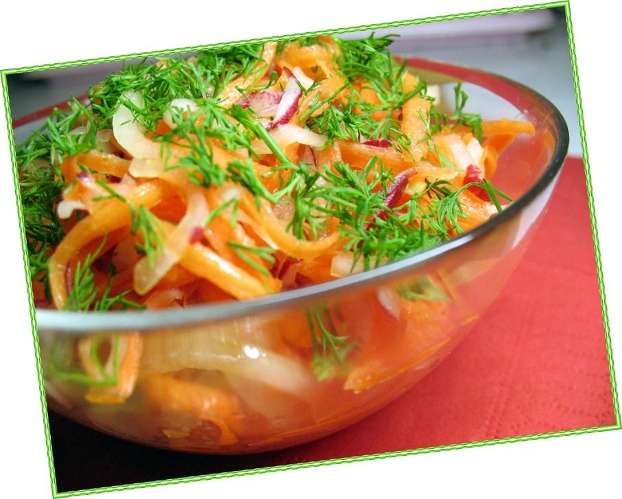Овощной салат для похудения рецепт с