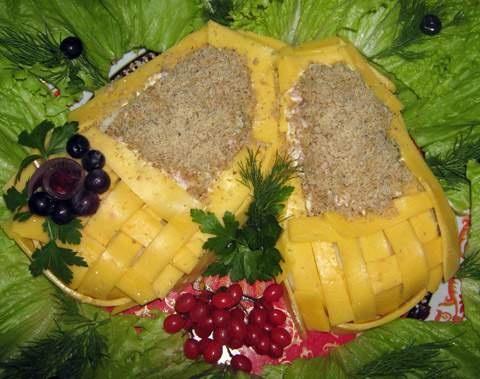 Фото готового блюда красивые салаты