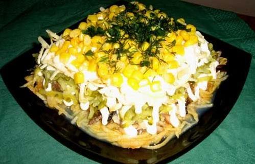 рецепты салатов с огурцов форум