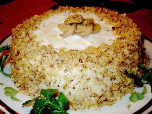рецепт салатов праздничных и вкусных с фото