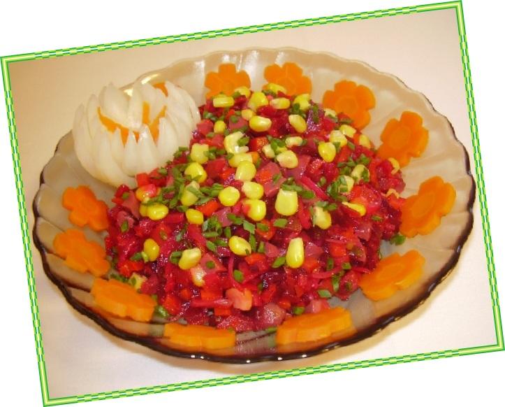 салат лилия рецепт с фото